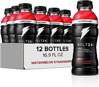 Sponsored Ad - Bolt24 Fueled by Gatorade, Hydration with Antioxidants and Electrolytes, Watermelon Strawberry, 16.9 Fl Oz,...