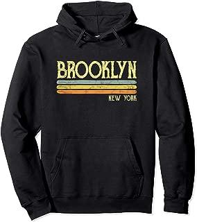 Vintage Brooklyn Hoodie New York Ny Love Gift Souvenir Hoody