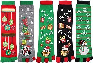 Best holiday toe socks Reviews