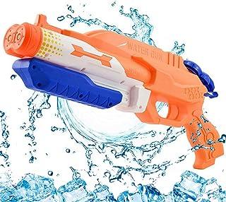 Addmos Jouets d'été, Pistolet à Eau de tir à Longue Distance et Grande Capacité..