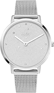 HUGO Women's Analogue Quartz Watch with Stainless Steel Strap 1540066