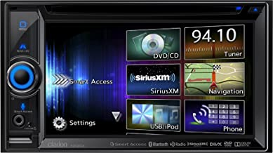 Clarion Corporation of America NX604 2-DIN DVD Multimedia Smart Access Receiver with Built-In Navigation (Discontinued by Manufacturer)