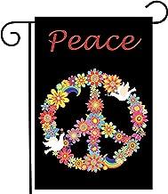 ShineSnow Love Peace Bird Flower Garden Yard Flag 12