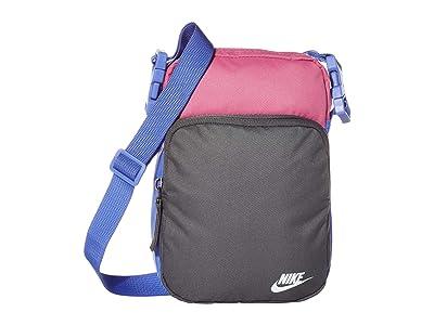 Nike Heritage Small Items 2.0 (Cosmic Fuchsia/Iron Grey/White) Bags