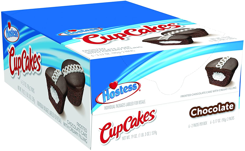 本物 Hostess Cupcakes Chocolate 3.17 Ounce 6 Count 10%OFF - OF 3 SET