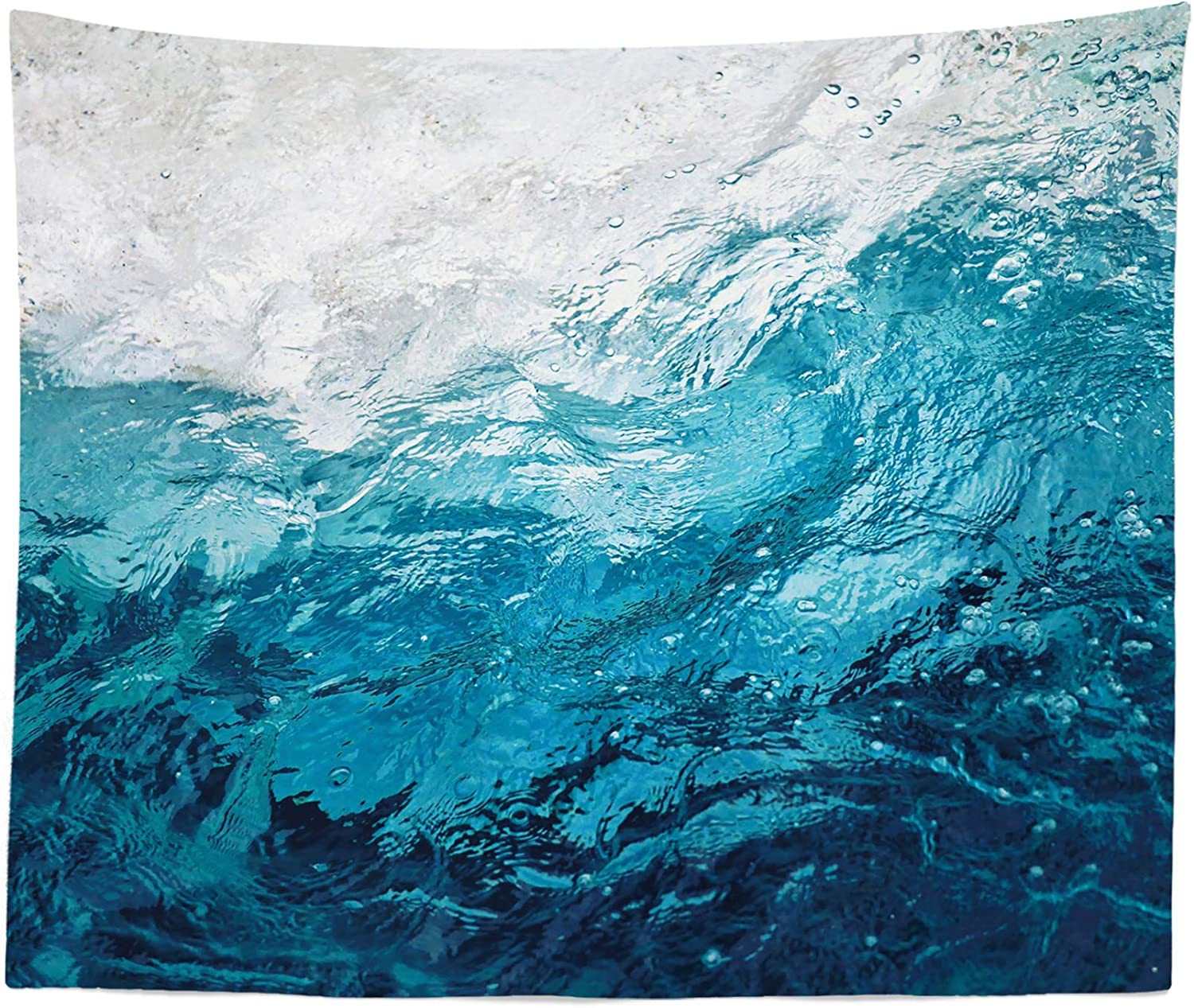 Abstract Blue Tapestry - Ocean Themed Boho Outlet At the price of surprise sale feature Scene Hangin Wall Sea