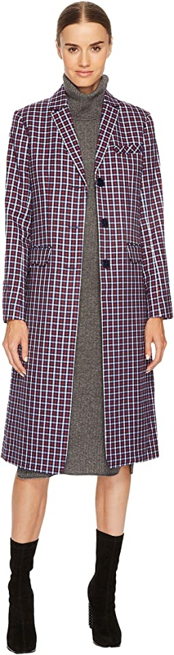 Sonia Rykiel - Small Check Tailoring Coat