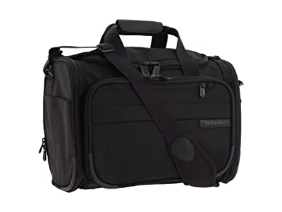 Briggs & Riley Baseline Cabin Duffle (Black) Carry on Luggage