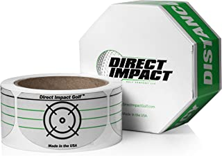 Direct Impact Golf Impact Tape - Roll of 225 Driver Labels