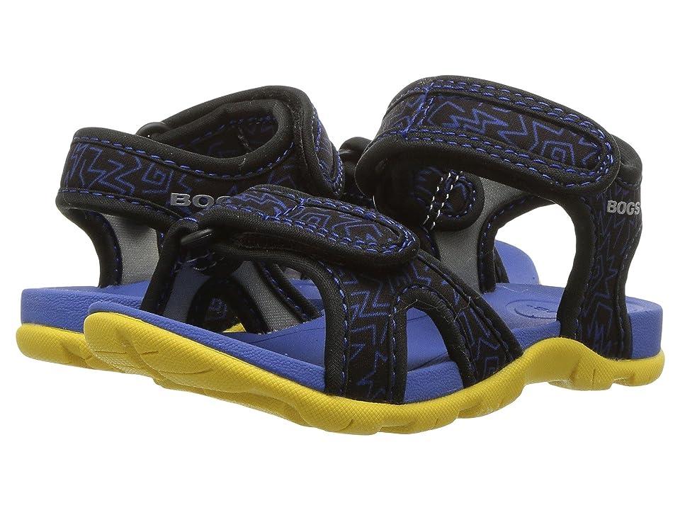 Bogs Kids Whitefish 80s (Toddler/Little Kid) (Black Multi) Boys Shoes