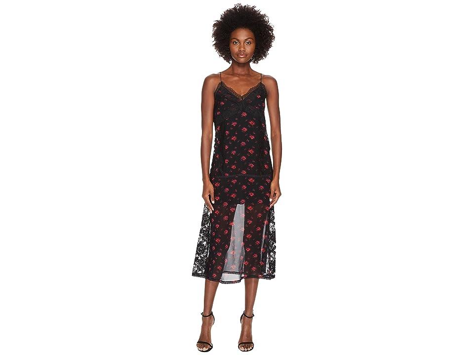 McQ Decon Slip Amp Floral Dress (Amp Floral) Women