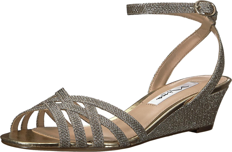 Nina Womens Faria Wedge Sandal