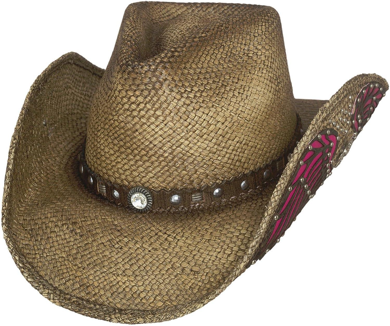 Bullhide Western Inspiration Straw Western Cowboy Hat