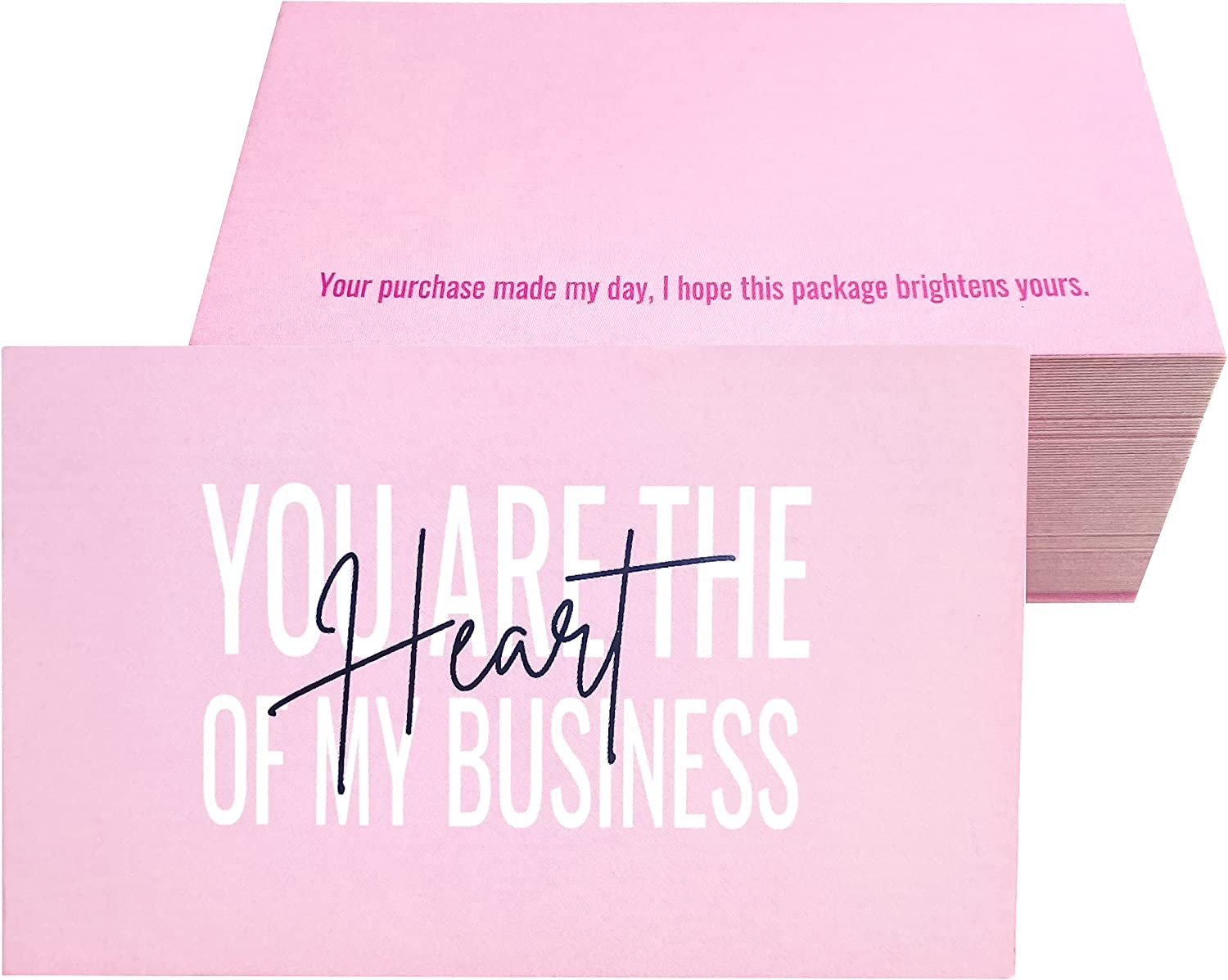 RXBC2011 Thank you cards are Translated the business Max 59% OFF Heart Cards of my
