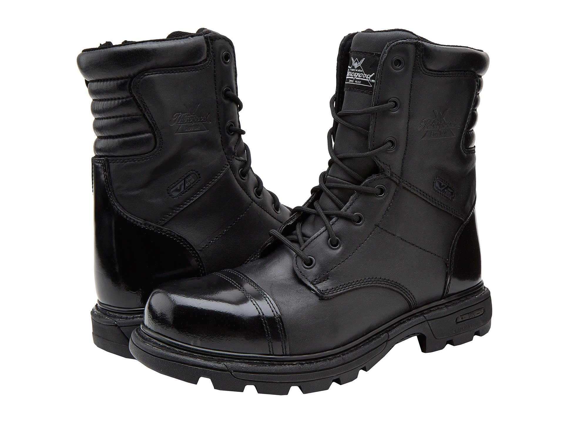 Thorogood 8 Inch Side Zipper Work Boot At Zappos Com