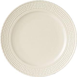 Belleek Galway Weave Dinner Plate