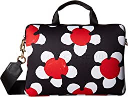 "Marc Jacobs Neoprene Printed Daisy Tech 13"" Commuter Case"
