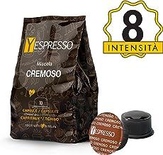 Yespresso Capsule Caffitaly Compatibili Cremoso - Confezione da 80 Pezzi