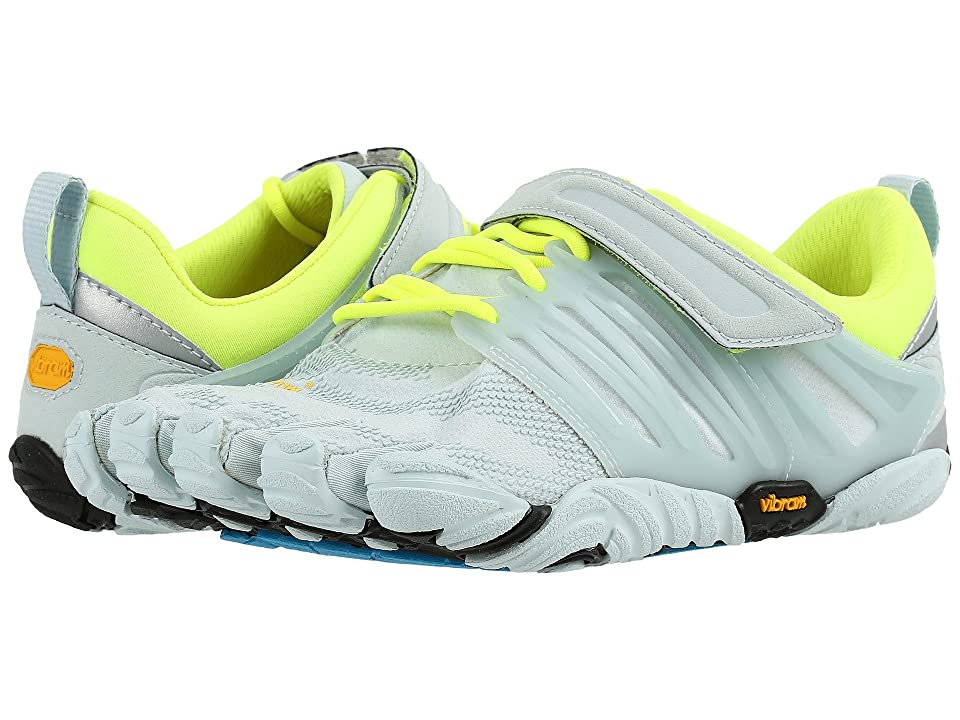 best loved 9749f 096ff Vibram FiveFingers V-Train (Pale Blue Safety Yellow) Women s Shoes