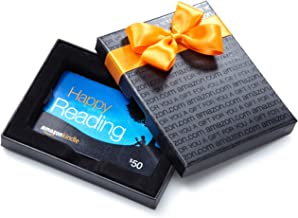 Amazon.com Gift Card in a Black Gift Box (Kindle Card Design)