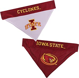 Pets First Collegiate Pet Accessories, Reversible Bandana, Iowa State Cyclones, Large/X-Large