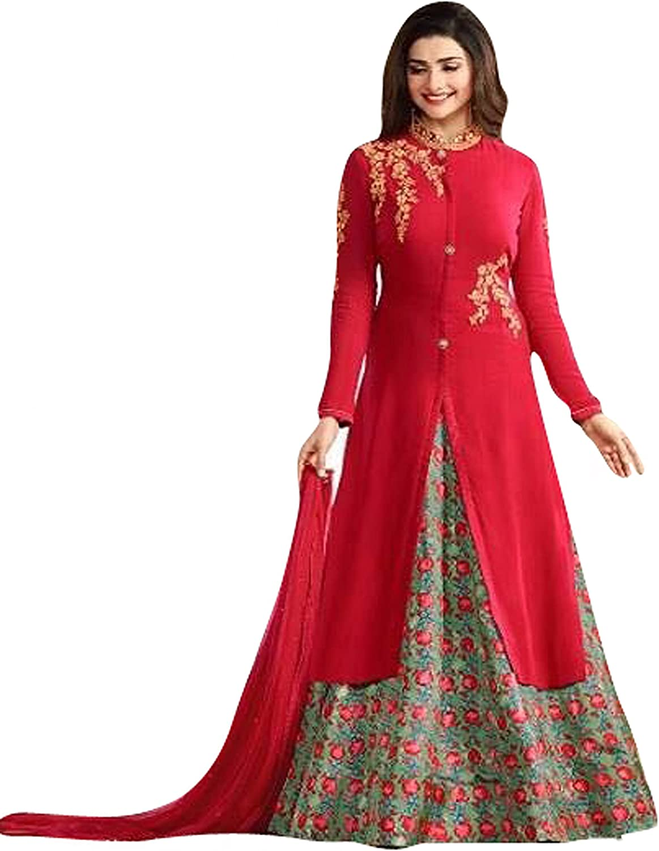 Delisa Readymade Bollywood Partywear Indian Pakistani Salwar Anarkali Suit SR99007