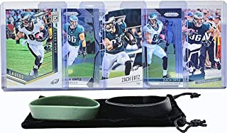 Zach Ertz Football Cards (5) Assorted Bundle - Philadelphia Eagles Trading Card Gift Set