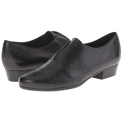 Munro Yale (Black Leather) Women