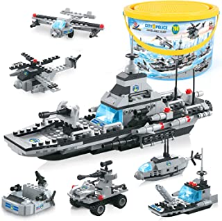 Building Blocks Armed Combined Warship, Exercise N Play...
