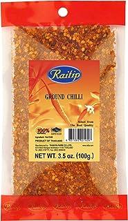 Raitip Chili 100g Chilipulver - GROB GEMAHLENE CHILISCHOTEN - 100% natural Chili