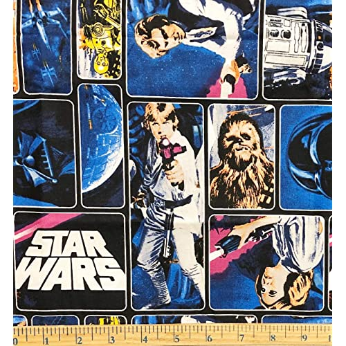 Rogue One Black 100/% Cotton Quilting /& Crafts Star Wars Fabric
