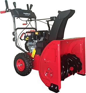 PowerSmart DB72024PA 2-Stage Gas Snow Blower with Power Assist, 24