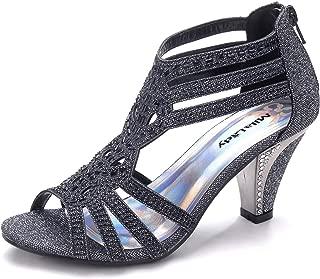 Women's Lexie Crystal Dress Heeled Sandals (Kimi 25)
