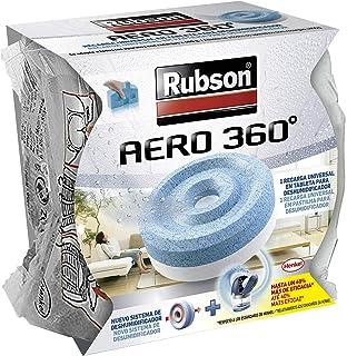 comprar comparacion Rubson AERO 360° Tableta de recambio de olor neutro, absorbe humedad y neutraliza malos olores, recambios Rubson para desh...