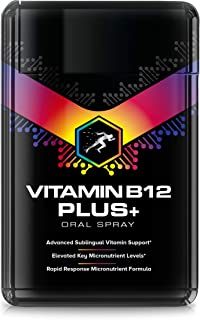Vitamina B12 1200ug Spray (20 ml) + Vitaminas B1. B2. B3. B5. B6. B7. B8. B9 - Complejo