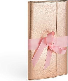 Billetera de Viaje de Joyería | | Lazo | Almacenamiento/Organización | Regalo | Rollo de Joyería | para Aretes, Anillos, Collares Y Pulsera Teamoy Roll para Joyería Organizador de Joyas Es