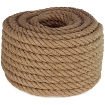 Bon 14-241 50-Feet by 3//4-Inch Diameter Heavy Duty Manila Rope Bon Tool