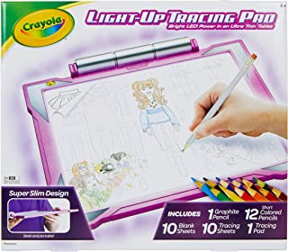 Crayola Light Up Tracing Pad Pink, Amazon Exclusive,...