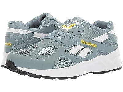 Reebok Lifestyle Aztrek (Teal Fog/Go Yellow/White/Black) Athletic Shoes