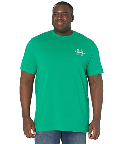 Nautica Big & Tall Big Tall Sustainably Crafted Yacht Club Graphic T-Shirt