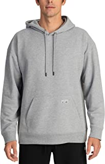 Men's Heavyweight French Terry Hooded Pullover Sweatshirt