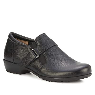 Walking Cradles Eliot (Black Tumbled Leather) Women