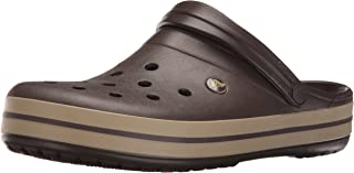 Crocs 卡骆驰 中性 成人 拖鞋, Cerulean Blue/Oyster, 9 US Men / 11 US Women