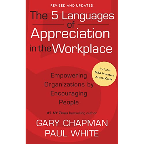 The 5 Languages Of Appreciation In The Workplace Pdf