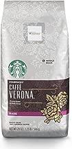 Starbucks Caffe Verona Dark Roast Whole Bean Coffee, 20 Ounce (Pack of 1)