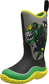 Muck Boot Boys Hale Transformers Grimlock Boots Size 4
