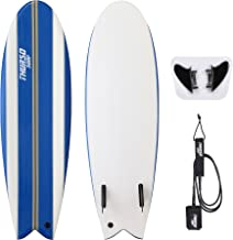 THURSO SURF Lancer 5'10'' Fish Soft Top Surfboard Package Includes Twin..