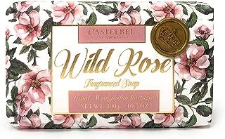 Castelbel Porto Wild Rose Fragranced Soap Bar with Moisturizing Shea Butter 10.5 ounces