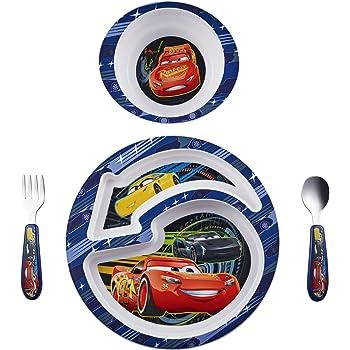 The First Years Disney/Pixar Cars Feeding Set, 4 Piece
