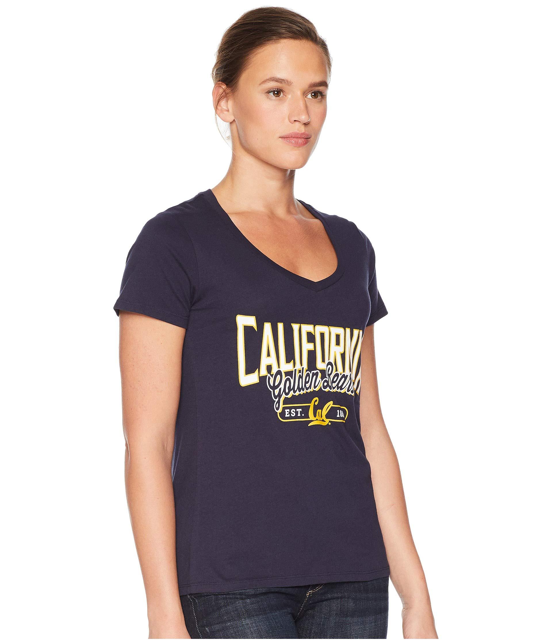 Navy University Tee Bears Champion College neck Cal V 06xFwv